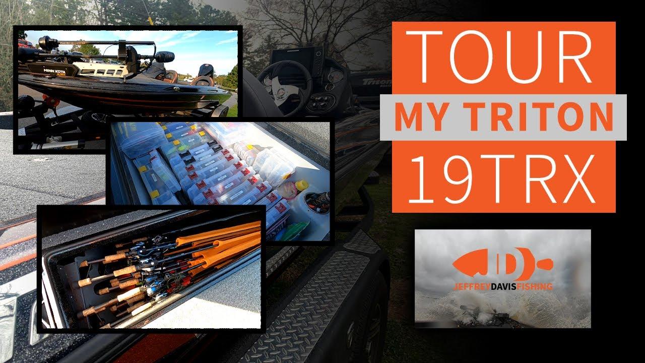 Tour My Triton Boats 19TRX Patriot